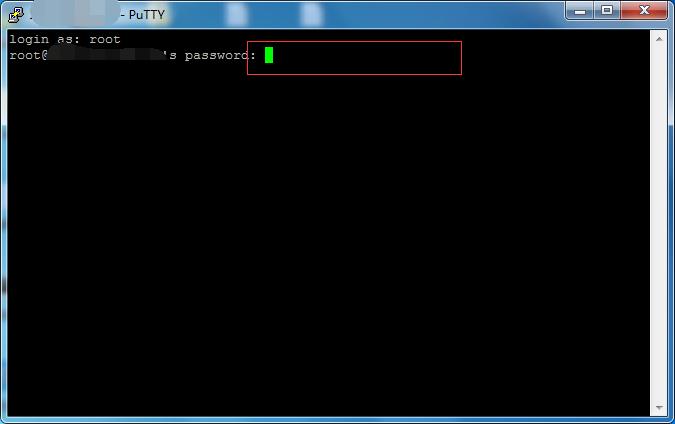 输入linux密码